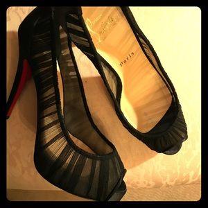 Christian Louboutin evening shoes